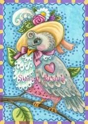 Art: LOVEBIRD by Artist Susan Brack