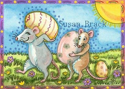 Art: EASTER LEFTOVERS by Artist Susan Brack
