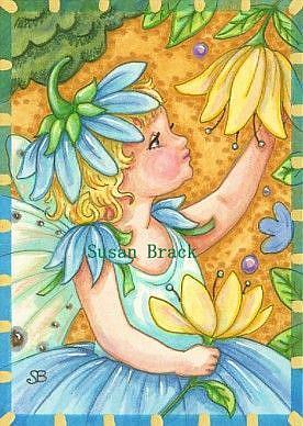 Art: BLUE BELLE by Artist Susan Brack
