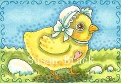 Art: LITTLE PEEP by Artist Susan Brack