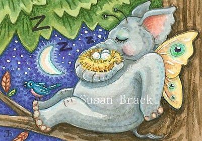 Art: WHEN THE BOUGH BREAKS by Artist Susan Brack