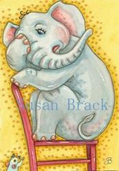 Art: EEEK! by Artist Susan Brack