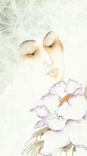 Art: Gheisha by Artist Gretchen Del Rio