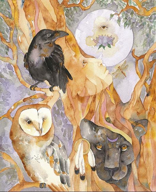 Art: ANGEL by Artist Gretchen Del Rio