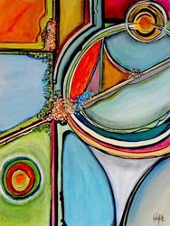 Art: Microcosm by Artist Roy Guzman