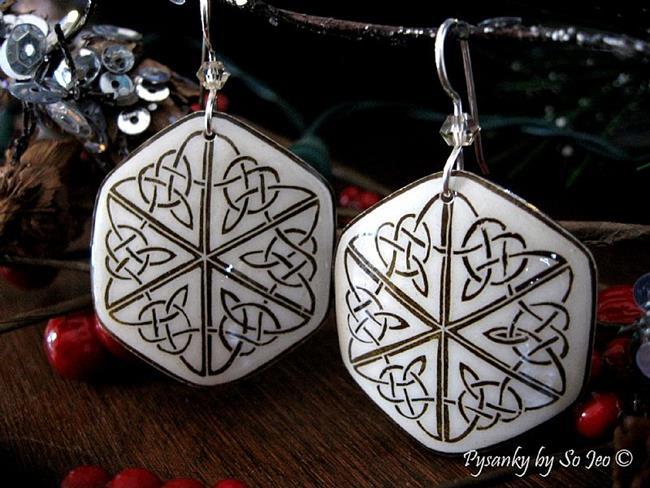Art: Celtic Triangles by Artist So Jeo LeBlond