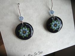 Art: Love In A Mist Earring & Pendant Set by Artist So Jeo LeBlond