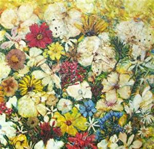 Detail Image for art Encaustic Orchid Bouquet - NFS
