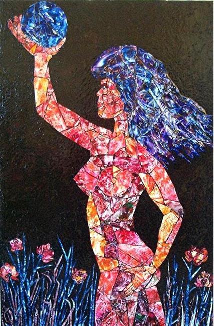 Art: I Am Woman by Artist Ulrike 'Ricky' Martin