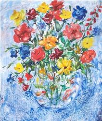 Art: Floral - sold by Artist Ulrike 'Ricky' Martin
