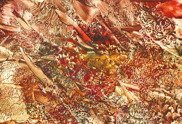 Art: Abstract # 95 by Artist Ulrike 'Ricky' Martin