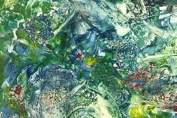 Art: Abstract # 93 by Artist Ulrike 'Ricky' Martin