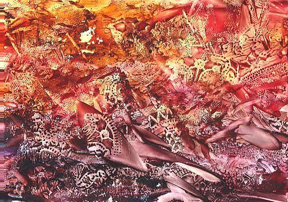 Art: Abstract # 112 by Artist Ulrike 'Ricky' Martin