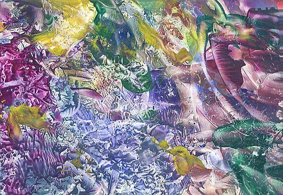 Art: Abstract # 119 by Artist Ulrike 'Ricky' Martin