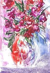 Art: Bouquet # 13 - sold by Artist Ulrike 'Ricky' Martin