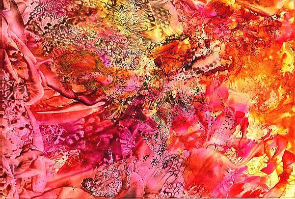 Art: Abstract # 85 by Artist Ulrike 'Ricky' Martin