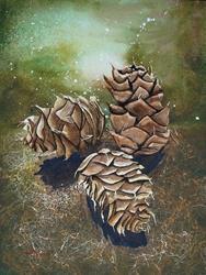 Art: Enchanted Forest by Artist Melanie Pruitt