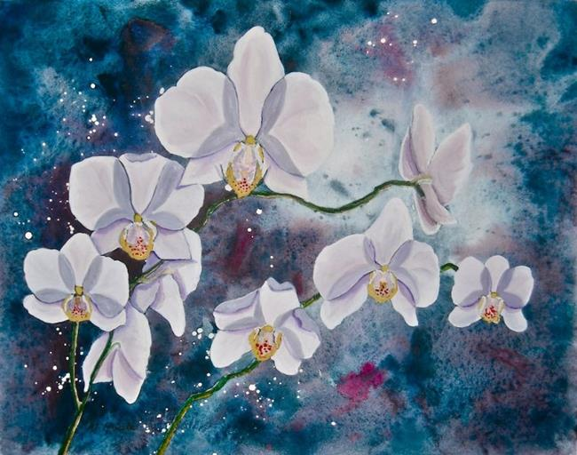 Art: Enchanted Orchid.jpg by Artist Melanie Pruitt