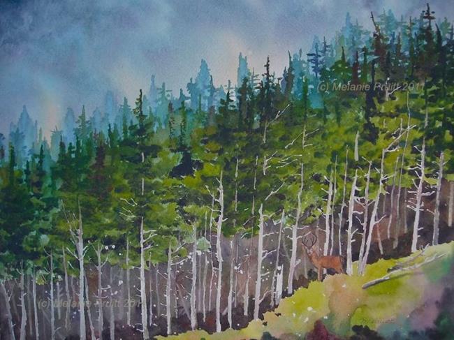 Art: Northwest Enchantment by Artist Melanie Pruitt