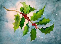 Art: Enchanted Holly by Artist Melanie Pruitt