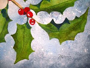 Detail Image for art Enchanted Holly