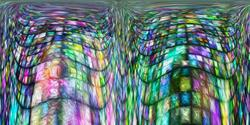 Art: Same Church different Pew by Artist Alma Lee