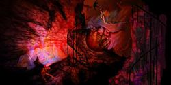Art: The Descending: There is a way that seems right to man by Artist Alma Lee