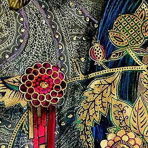 Detail Image for art Once I Sleep (original)