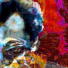 Detail Image for art Kahlil Gibran Portrait of the Prophet