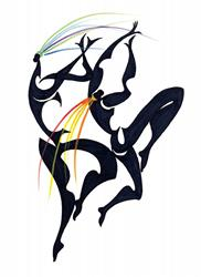 Art: Free Dancers3 by Artist Roy Guzman