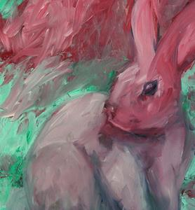 Detail Image for art Evil Bunny - Series 2 - SOLD
