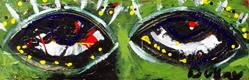 Art: Spring Eyes by Artist Kelli Ann Dubay