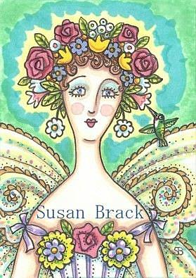 Art: MOTHER NATURE #3 by Artist Susan Brack