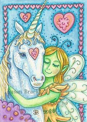 Art: KINDRED SPIRITS by Artist Susan Brack