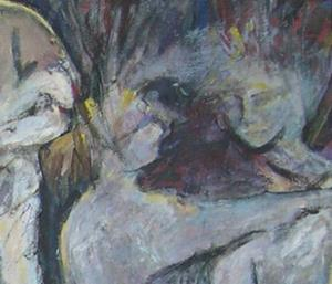 Detail Image for art The Way We Dance (sold)