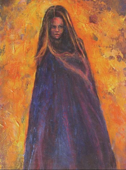 Art: Wraith #1 by Artist Virginia Ann Zuelsdorf