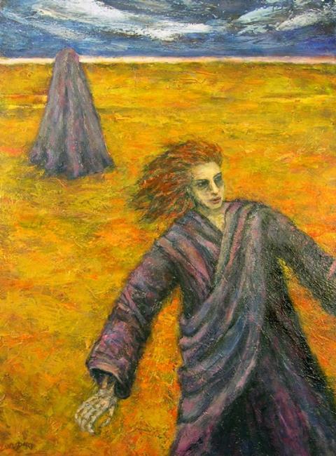 Art: Wraith #4 by Artist Virginia Ann Zuelsdorf