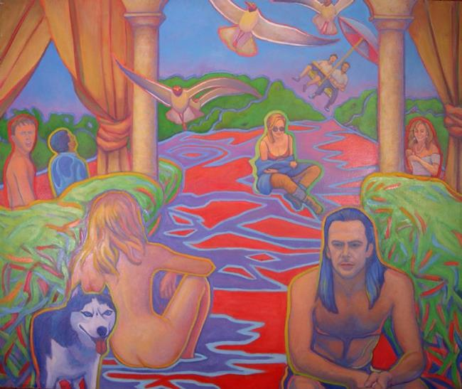Art: The Story of My Life by Artist Virginia Ann Zuelsdorf