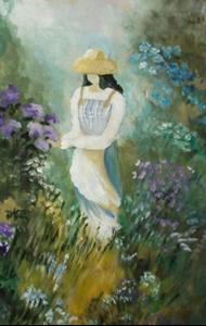 Detail Image for art Walk in the Garden