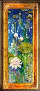 Detail Image for art WATERLILY & REFLECTIONS NO. 2