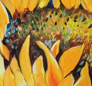 Detail Image for art SUNFLOWER SEPTEMBER 2012