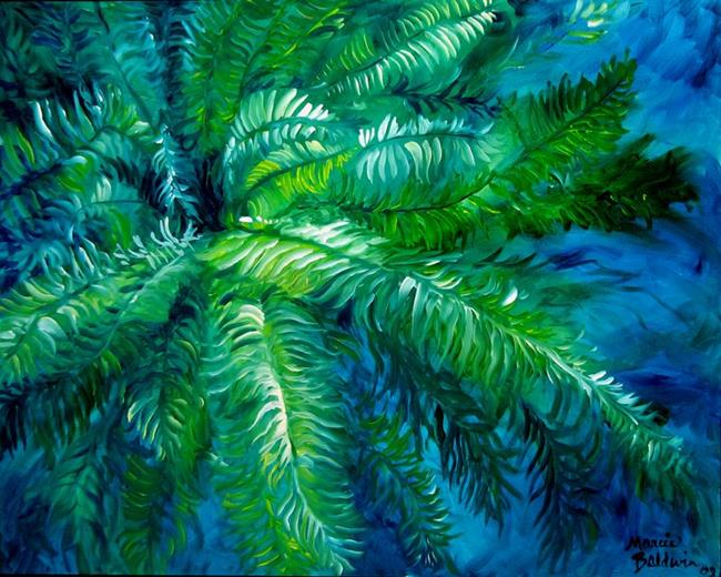 green fern abstract by marcia baldwin from fotm ferns