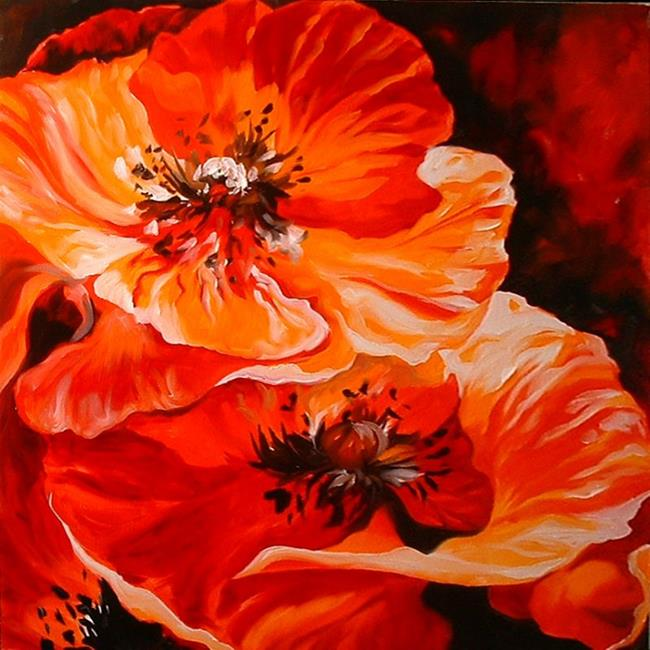 Poppy Paintings - Poppy Poppy