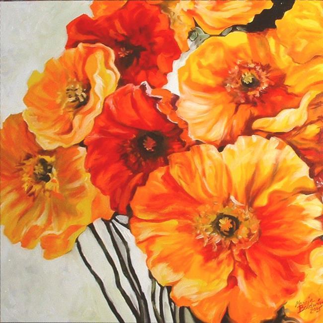 Art: Poppy Grand by Artist Marcia Baldwin