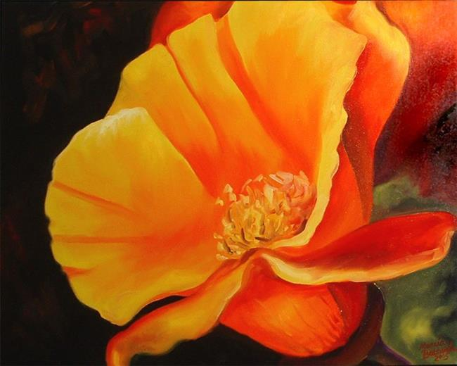 Art: Poppy O'Poppy by Artist Marcia Baldwin