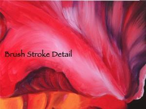 Detail Image for art Exotic Red Iris