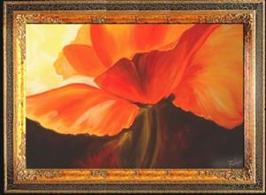 Detail Image for art ABSTRACT POPPY