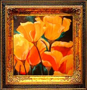 Detail Image for art California Poppy Field