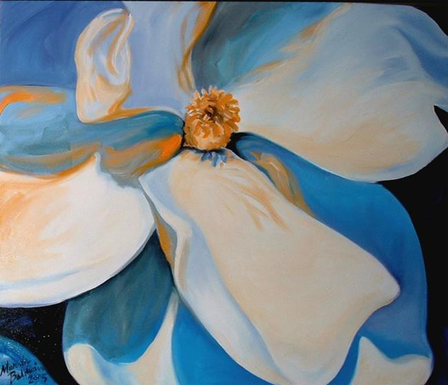 Art: Southern Magnolia by Artist Marcia Baldwin