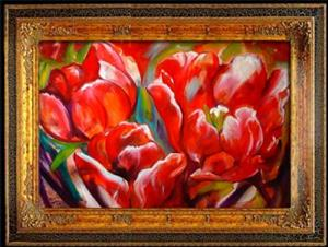 Detail Image for art ABSTRACT TULIPS
